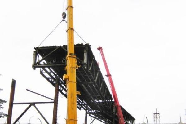 Демонтаж на Кировском заводе