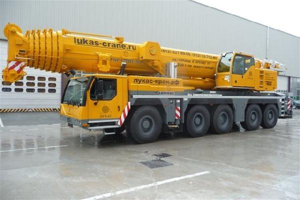 Либхер 200 тонн