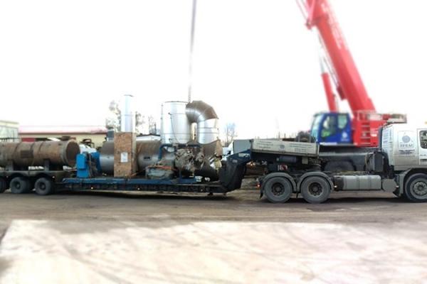 демонтаж и перевозка оборудования завода