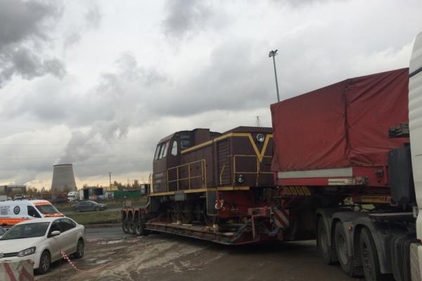 Транспортировка негабаритного груза по СПб
